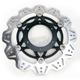 Front Black Vee Brake Rotor - VR1141BLK