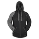 Grey/Black United By Speed Armored Hoody