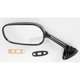 Black OEM-Style Replacement Rectangular Mirror - 20-69782