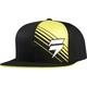 Black/Yellow Satellite Snapback Hat - 07269-019-OS