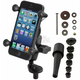 Ram Fork Stem Mount W/ Short Double Socket Arm And Universal X-Grip Cell Phone Holder - RAM-B-176-A-UN7