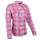 Womens Pink Smokin Aces Moto Shirt