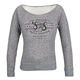 Womens Black Heather Smokin Aces Fleece
