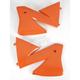KTM 98 Orange Radiator Cover - KT03066-127