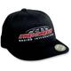 Black/Red International Hat