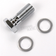 Chrome Steel 3/8 in.-24 Banjo Bolt - R40509