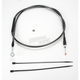 Black Pearl Designer Series Alternative Length Clutch Cables for Custom Height/Width Bars - 422218HE