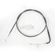 Black Pearl Designer Series Alternative Length Braided Throttle Cables for Custom Handlebars - 43215