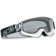 Youth White Agent Goggles w/Clear Standard Lens - 221333-0002041
