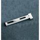 Universal Chrome Square End Seat Hinge Brackets - DS-902013