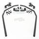 Wrinkle Black Fender Protectors - 56-3282