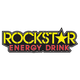 Rockstar Text Logo Sticker - 15-94720