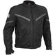 Black Rush Mesh Jacket