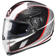White/Black/Red Cage RPHA-10 Helmet
