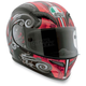 Black/Red Stigma Grid Helmet