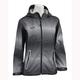 Womens Gray/Black Adrenaline Rain Jacket
