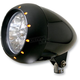 5 3/4 in. Alien Black Headlight - 1116-0002