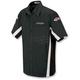 Black/White Staff Shirt