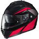 Red/Black/Gray IS-MAX II MC-1 Elemental Modular Helmet