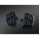 Gloss Black Kinetic Mini Boards w/Male Mount - 7612