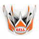 Silver/Orange/Black Visor for SX-1 Switch Helmet - 2036799