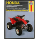 Honda ATV Repair Manual - 2318