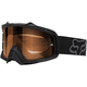 Matte Black/Orange Air Space Enduro Dual Lens Goggle - 09951-902-OS