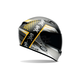Black/Silver/Yellow Qualifier Air Trix Battle Helmet