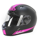 Black/Hot Pink CL-17 MC-8F Streamline Helmet