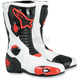 White/Black/Red S-MX 5 Boots