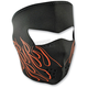 Orange Flame Face Mask - WNFM045