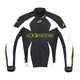 Black/White T-GP Plus Air Jacket w/Fluorescent Yellow