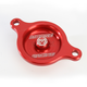 Red Magnetic Oil Filter Covers by ZipTy - 0940-1001
