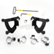 Black No-Tool Trigger-Lock Hardware Kits for Gauntlet Fairing - MEB2002