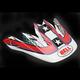 White/Red/Blue Visor for Moto-9 Hurricane Helmets - 2036781