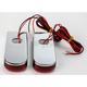 Chrome LED Fender Strut Lights - Red LED w/Red Lens - SPSL-3