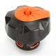 Black w/Orange Quick Fill Fuel Cap - QCKTMOT