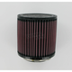 Universal Round/Straight Clamp-On Air Filter - 5 in. Diameter x 5 in. Long - RU-2430