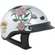 Vented Shorty Lady Rider Beanie Half Helmet