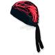 Black/Red Lightning Stretch Z-Wrap - BNDNA003-35