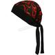 Mini Red Flames Stretch Headwrap - BNDNA003-27