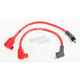 Red 8mm Pro Spark Plug Wires w/90 Degree Boot - 77235