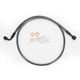Black Pearl Designer Series 180 Degree Top Angle Custom Single-Disc Front Brake Line - 46442SW