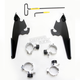 Black No-Tool Trigger Lock Hardware Kit for Memphis Fat/Slim Windshield - MEB2001