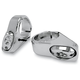 Chrome Plated LED Fork-Mount Marker Lights - for 49mm Forks - 05-49-3C