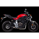 S1R Series Carbon Fiber Full Exhaust System - 005-4070105-S1
