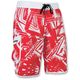 Red Splice Neo Boardshorts