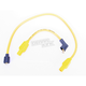 Yellow 8mm Pro Spark Plug Wires w/180 Degree Boot - 77433