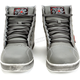 Gray Black Nine Moto Shoes