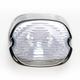 Smoke Laydown Taillight Lens - 2010-0798